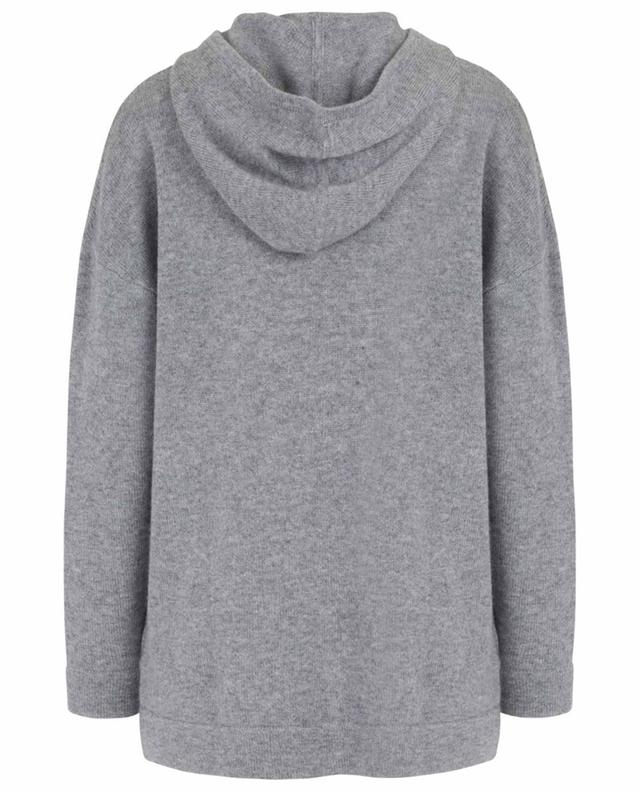 Zippered and hooded cashmere cardigan FTC CASHMERE