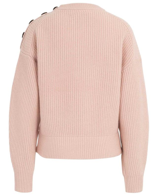 Rib knit cashmere jumper YVES SALOMON