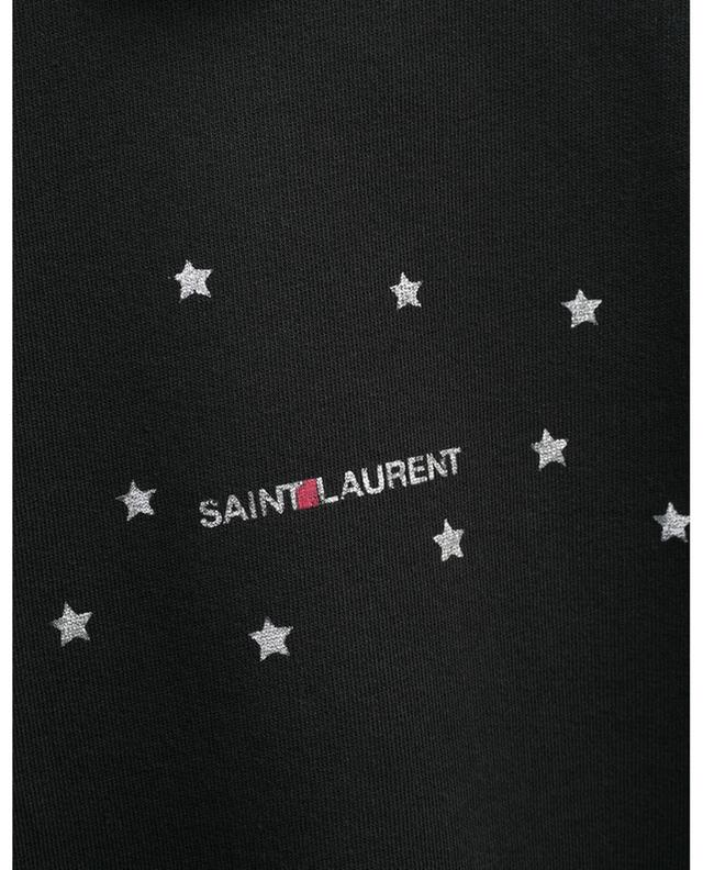 Saint Laurent short star print sweatshirt SAINT LAURENT PARIS
