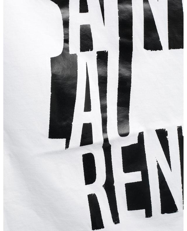 Saint Laurent Poster jersey T-shirt SAINT LAURENT PARIS
