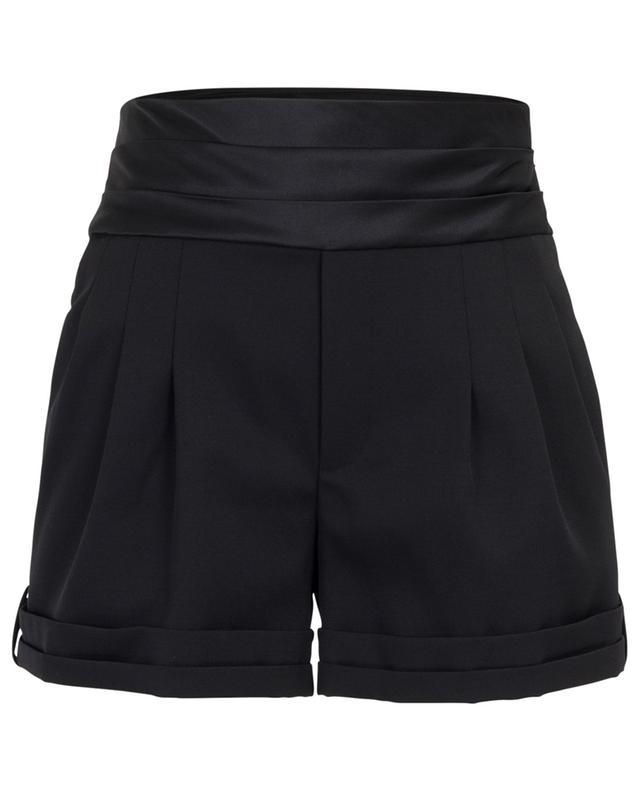 Shorts mit Satintaillenbund Tuxedo SAINT LAURENT PARIS