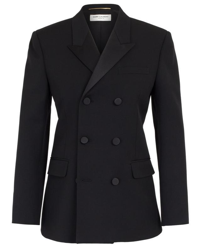 d017b5594cb SAINT LAURENT PARIS Virgin wool blazer - Bongénie-Grieder