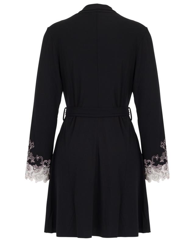 Rimmel short jersey robe with lace PALADINI