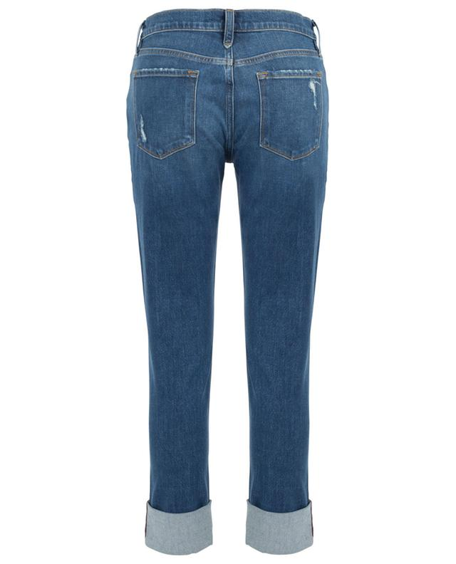 Le Nick distressed straight jeans FRAME