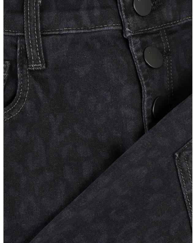 Lillie leopard print skinny fit jeans J BRAND