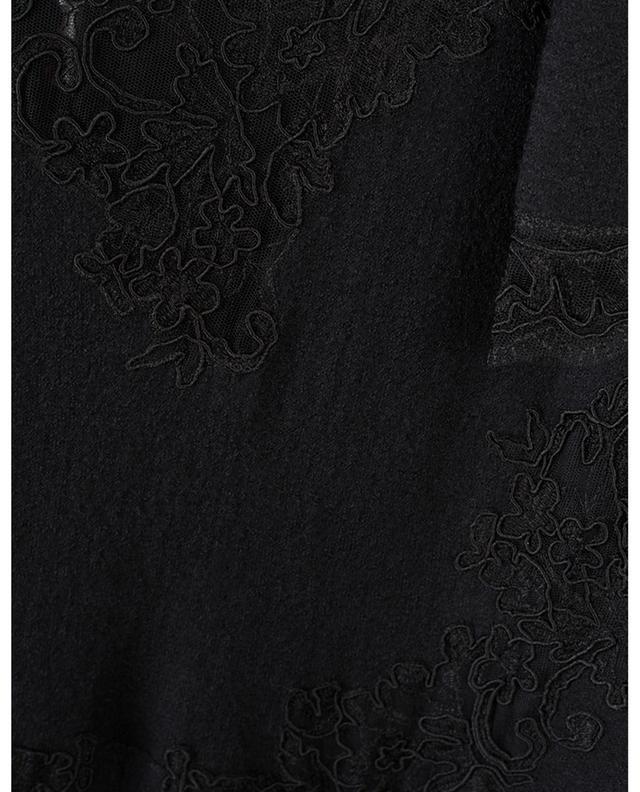 Empire waistline dress with lace ERMANNO SCERVINO