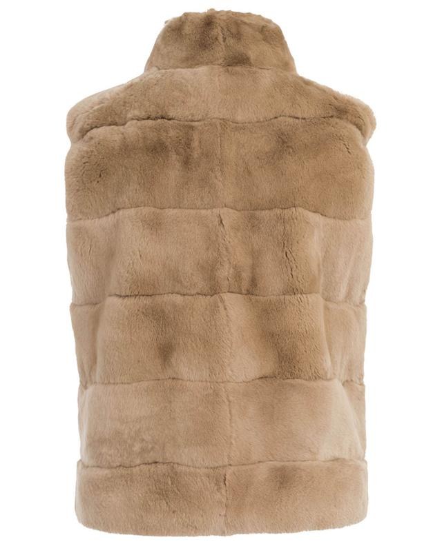 Reversible fur and nylon gilet Sésame YVES SALOMON