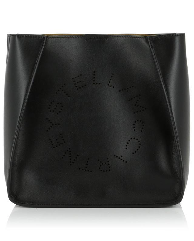 Sac porté croisé en cuir synthétique Stella Logo Mini STELLA MCCARTNEY