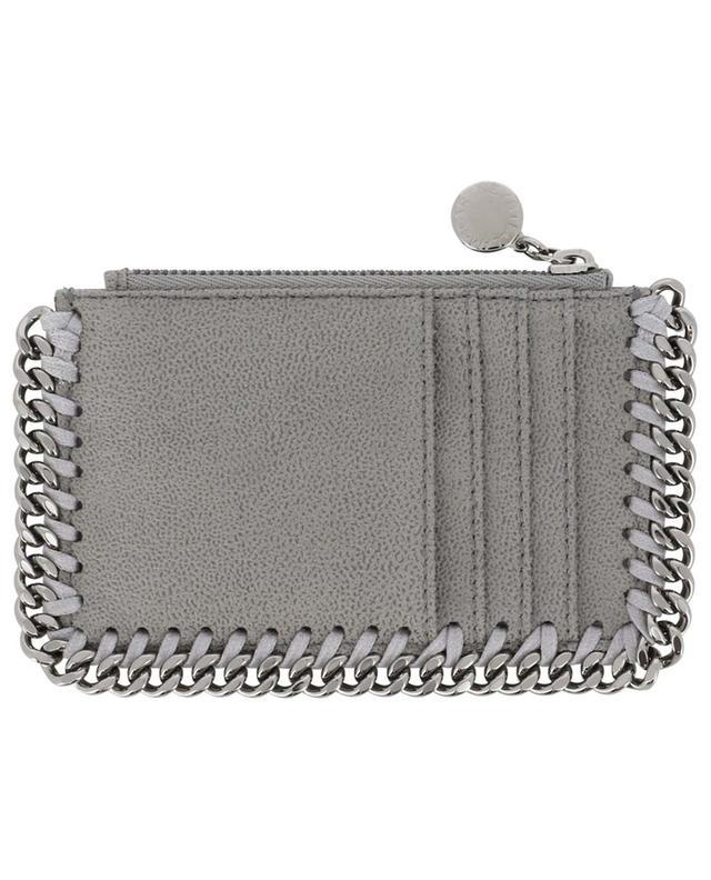 Porte-cartes avec poche zippée Falabella Shaggy Deer STELLA MCCARTNEY