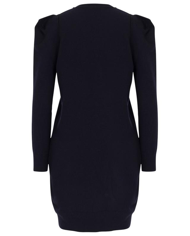 Short boiled wool dress with square shoulders STELLA MCCARTNEY