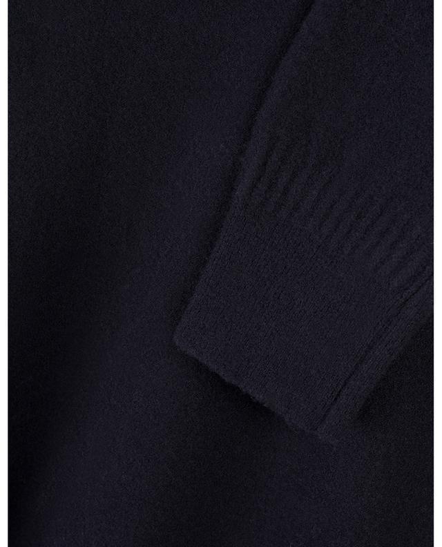 Robe courte en laine bouillie à épaules carrées STELLA MCCARTNEY