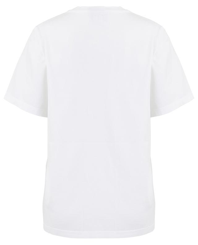 T-shirt large en coton avec logo en relief STELLA MCCARTNEY