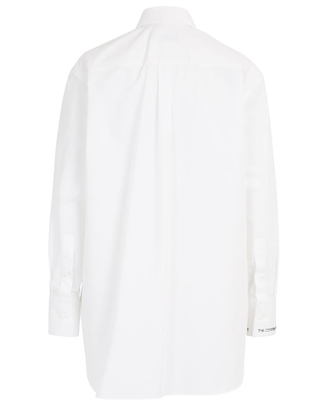 Lovers Undercover printed oversize shirt VALENTINO