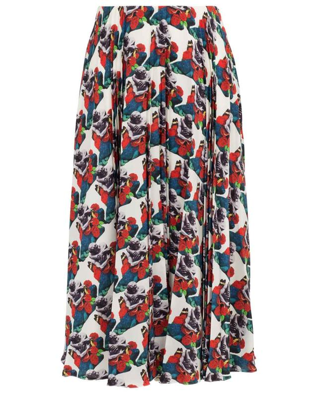 Lovers Pattern Undercover printed pleated skirt VALENTINO