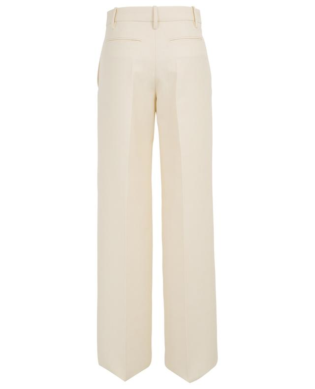 Virgin wool twill wide-leg trousers VALENTINO