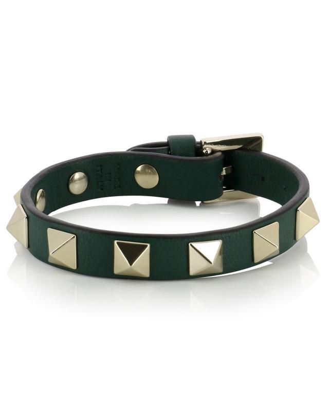 Bracelet en cuir Rockstud VALENTINO