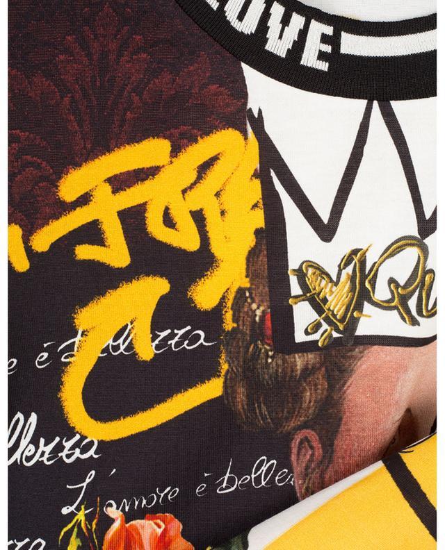 Graffiti Queen short sleeved T-shirt with print DOLCE & GABBANA