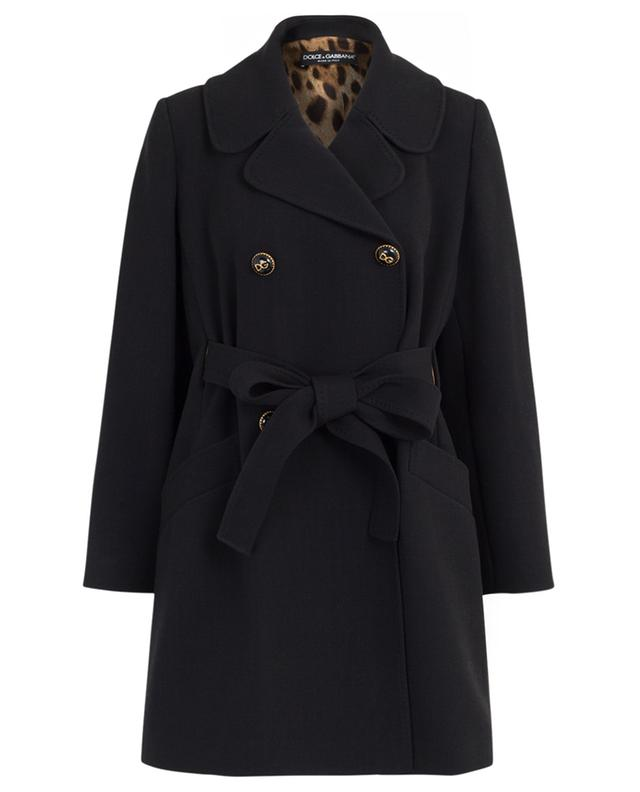 Manteau en laine mélangée DOLCE & GABBANA