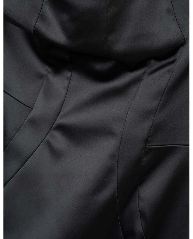 Robe fourreau en satin avec soutien-gorge DOLCE & GABBANA