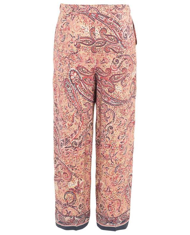 Pantalon large imprimé paisley Melodia MAXMARA STUDIO