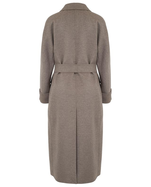 Dora long virgin wool blend coat 'S MAXMARA