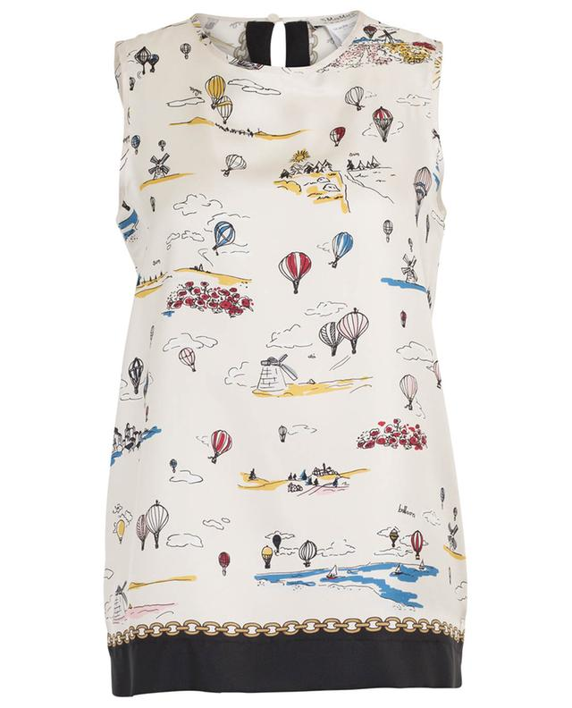 Finale sleeveless hot-air ballon print top 'S MAXMARA