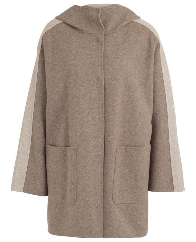 Manteau réversible à capuche Canna MAXMARA STUDIO