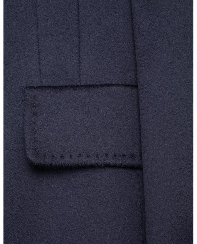 Manteau droit en laine à col montant Marengo MAXMARA STUDIO