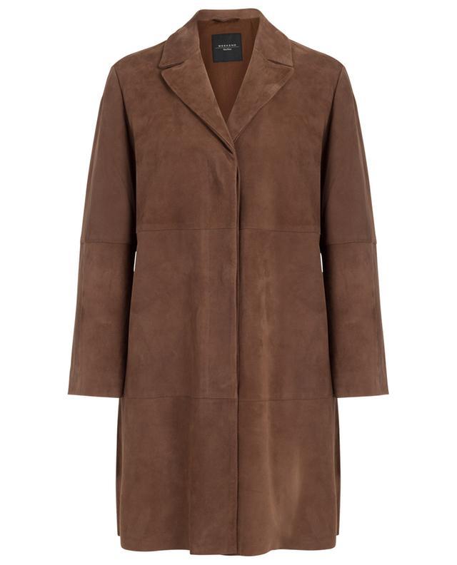 Virtus lightweight suede coat WEEKEND MAXMARA