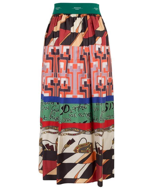 Jupe longue imprimée foulard Nabulus WEEKEND MAXMARA