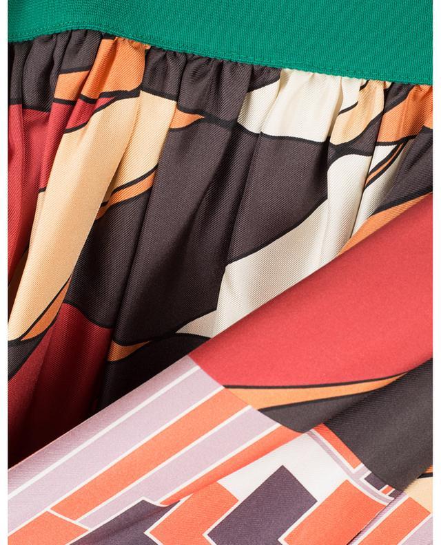 Nabulus long scarf print skirt WEEKEND MAXMARA