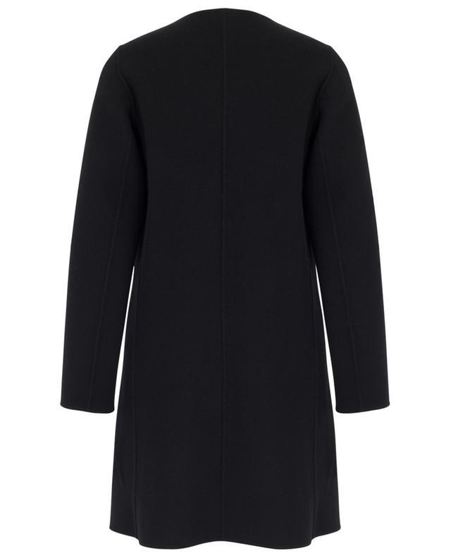 Guinea A-line round neck virgin wool coat WEEKEND MAXMARA