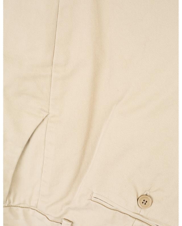 Pantalon cigarette en sergé de coton Oglio WEEKEND MAXMARA