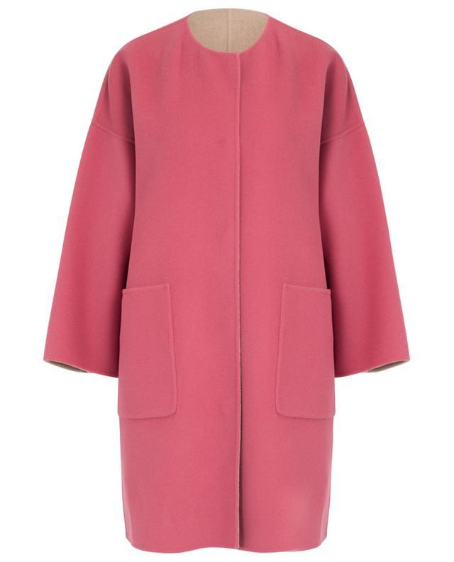 Drava reversible A-line virgin wool coat WEEKEND MAXMARA