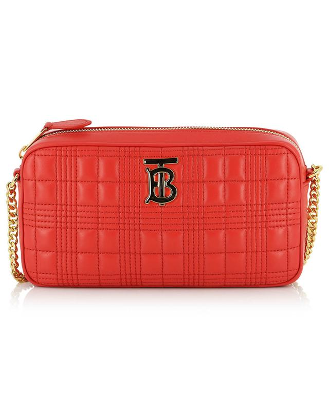 TB Camera quilted leather shoulder bag BURBERRY