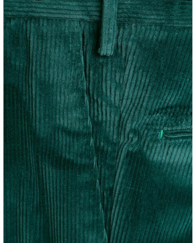 Slim fit corduroy trousers PT01