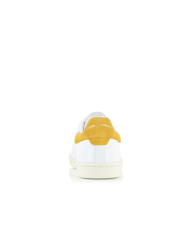 Isabel marant leather sneakers white a14205