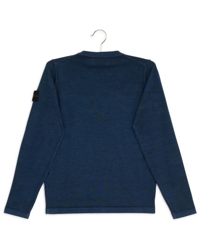 Pull col rond en laine STONE ISLAND