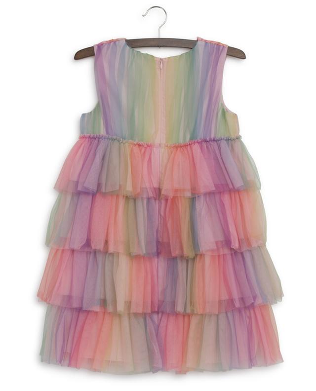 Fanny sleeveless rainbow tulle dress CHARABIA