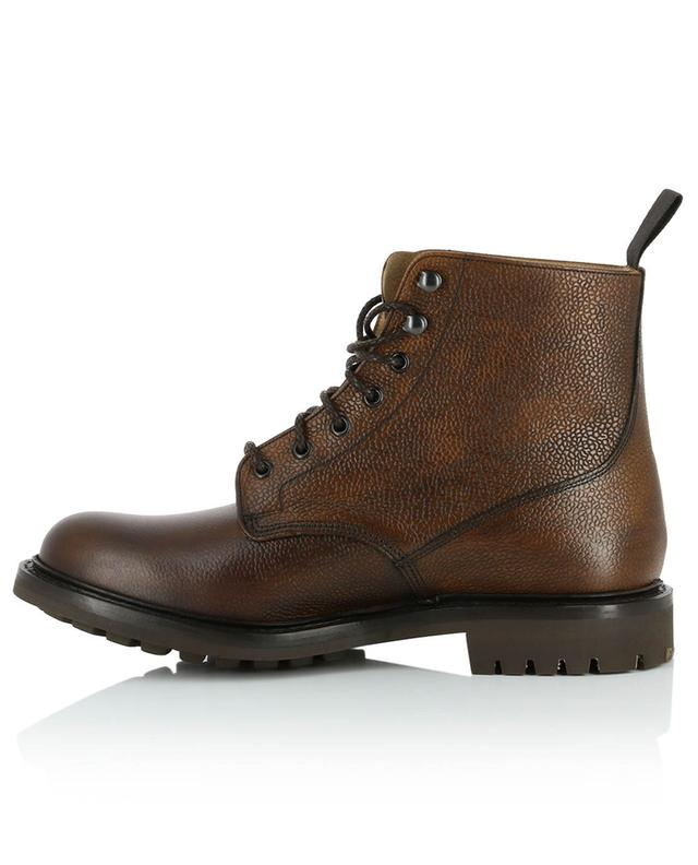 Mc Duff 2 textured leather combat boots CHURCH
