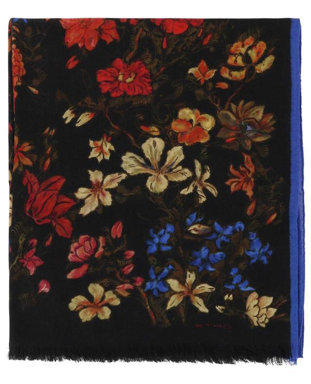Delhy flower print scarf ETRO
