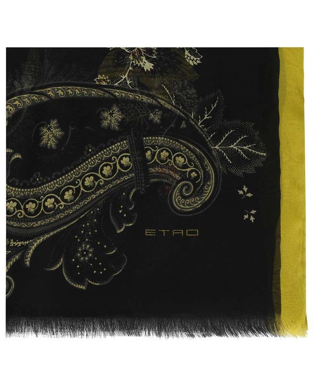 Stola aus Seide mit Print ETRO