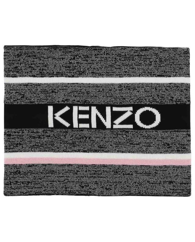 Écharpe tube rayée scintillante Kenzo Logo KENZO
