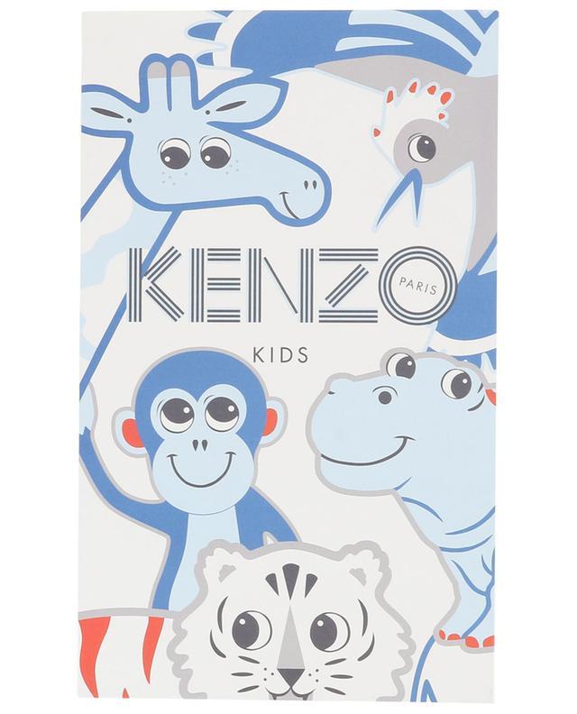Coffret bébé trois pièces Crazy Jungle KENZO