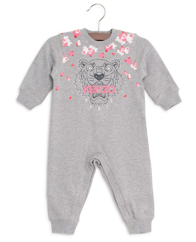 Tiger cotton rompers KENZO