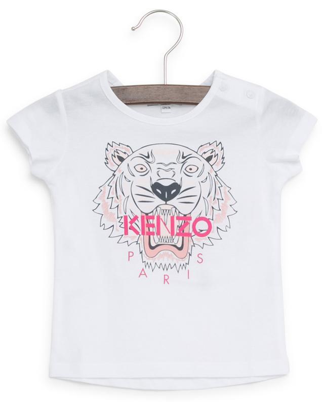 T-shirt en coton imprimé Tiger KENZO