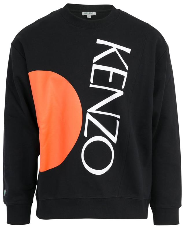 Sweat-shirt imprimé logo New Signature KENZO