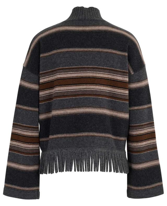 Amico fringed striped jumper WEEKEND MAXMARA