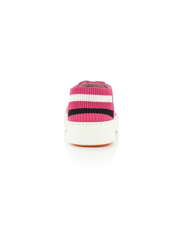 Baskets en cuir détail chaussette Whippy Summer SANTONI