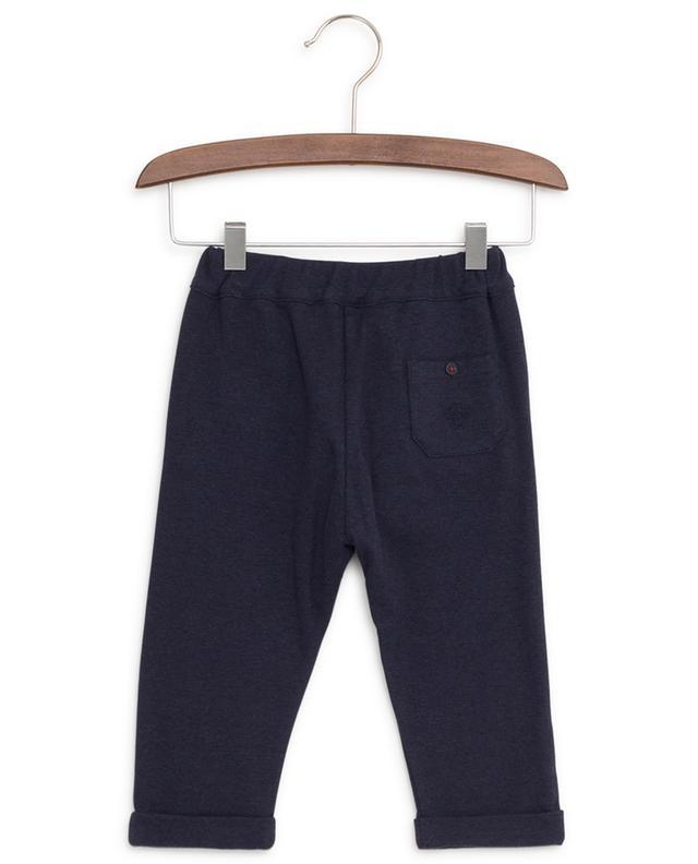 Pantalon en coton et laine mélangés Réunion De Famille TARTINE ET CHOCOLAT